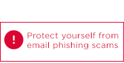 Read information about recent email phishing attempts