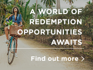 A world of redemption opportunities awaits. Find out more.
