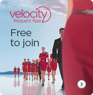 Velocity Frequent Flyer. Free to Join