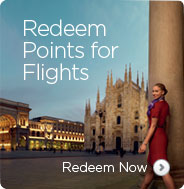 Redeem Points for Flights. Redeem Now.